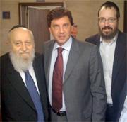 Rabino Shabsi Alpern Rabino Yossi Alper