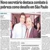 Novo secretário destaca combate à pobreza como desafio em São Paulo