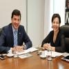 Secretário Floriano Pesaro se encontra com a ministra Tereza Campello