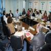 Secretário Floriano Pesaro recebe membros do Ministério de Desenvolvimento Social