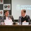 Floriano participa de coletiva com João Doria sobre as ações na Cracolândia