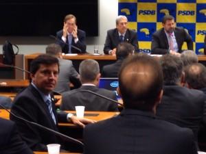 Na primeira reunião da Bancada Federal do PSDB na Câmara