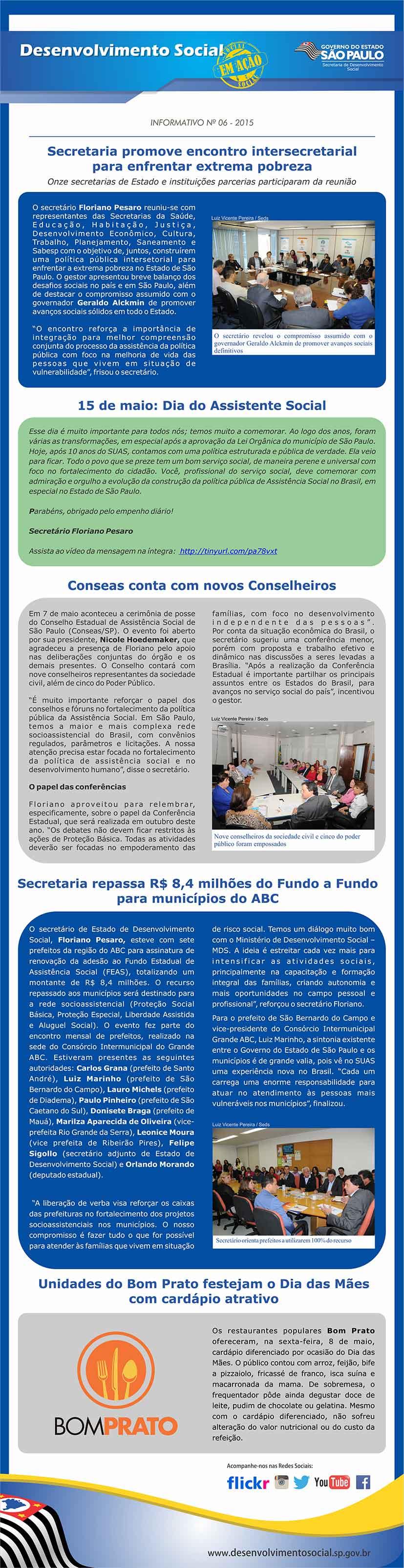 news Maio