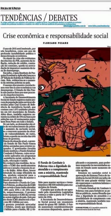 Artigo Floriano Folha 14122005